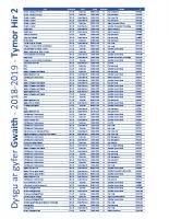 2018-2019 – TERM 2 – brochure W